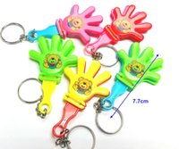 Wholesale hand clappers noise makers for sale - Group buy 12 pc Hand Clappers with Key Chain Goody Bags Fun Party Favor toys Pinata Carnivals Clicker Sound Noise Maker gift Novelty