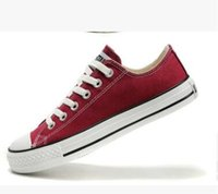 Wholesale Massage Promotion - 000999 Promotion Brand New 10 Colors All Size 35-45 Low Top Style sports stars Classic Canvas Shoe Sneakers Men's Women's Casual Shoes