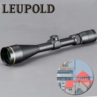 retículo del francotirador del alcance del rifle al por mayor-LEUPOLD VX-3 4.5-14X50mm Alcance del rifle de la mira Visión táctica del retículo de cristal Montaje libre para francotirador Airsoft Gun Hunting
