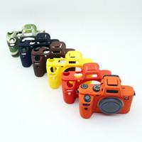 Wholesale camera mark ii - Universal Silicone Protective Case Skin for Sony A72 A7S2 A7R2 A7II A7R Mark II