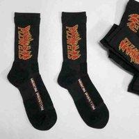 toalhas funcionais venda por atacado-Heron preston moda meias de alta qualidade chama hpbww001