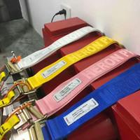 ceintures de mode jaune pour femmes achat en gros de-Héron Preston Hommes Femmes Hip-Hop De La Mode Streetwear Bleu Héron Preston Tactique Toile Ceinture Jaune Orange Ceinture 120cm