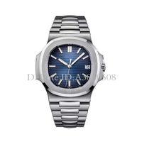 Wholesale Vintage Square Quartz Watch - Geneva Luxury Brand Stainless Steel Strap Quartz Men Watches Vintage High Quality PP Watch Moon Phase Casual Nautilus Wristwatch