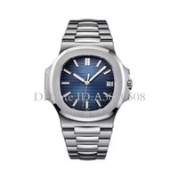 Wholesale pp watch nautilus resale online - Swiss Watch Japanese Miyota Automatic Mechanic Men Watch Stainless Steel Strap Nautilus High Quality pp Watch Sports Wristwatch montre