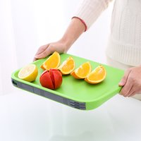 Wholesale Block Cut - Cutting Block Multifunction Mildew Proof Functional Board Follow The Principles Of Ergonomics Plastic Chopping Boards New Arrive 3 6rh Y Z
