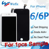 Wholesale order digitizer touch screen for sale - Group buy 1pcs For iPhone Plus Best LCD display Replacement with touch screen digitizer Black White For Sample Order ePacket