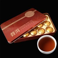 ingrosso tè di mini yunnan-Promessa Cina Mini Tuocha Yunnan Puer Tè Puerh salute tè in scatola di imballaggio Tè nero sapore Pu'er