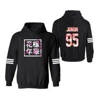 Wholesale black friday online - Lucky Friday BTS Bangtan Boys JIMIN printing hoodies and sweatshirts