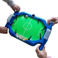 настольная игра машина оптовых-Бесплатная доставка настольный футбол детская настольная игра игрушки футбол машина ребенок подарок на день рождения