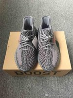 Wholesale Fabric Charcoal - ORIGINALS BOOST 350 V2 CHARCOAL GREY GRIS BELUGA 2.0 Running Shoes BLACK RED CORE BLACK CORE WHITE Sneakers Men 350V2 SPLY