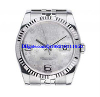 Wholesale 36mm watch wrist resale online - Christmas Gift AAA luxury watch mens men watches Wrist watch automatic stainless steel strap mm flowers dial