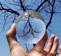 ingrosso lente d'arte-Spedizione gratuita K9 Sfera di cristallo decorativa 60mm Chiara fotografia Lens Prop Globe House, ufficio, Hotel Desktop Decor Feng Shui Art Ornament
