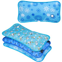 Wholesale cooling car summer seat cushion - Cool summer ice pillows Cushions Car seats Can inject ice water 3 kinds of specifications 6 kinds of patterns Thicker materials more durable