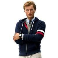 hoodie big size toptan satış-Ücretsiz kargo! Klasik marka erkek polo Hoodies ve Tişörtü sonbahar kış% 100% pamuk büyük at erkek hoodies boyutu S-2XL.