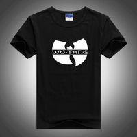 ingrosso mens swag tops-Mens T Shirts Fashion WU TANG 3D Stampa Uomo Magliette Homme Stampa Swag Classic Viola Punk Tops Maglietta misto cotone manica corta