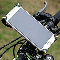 suporte de navegação venda por atacado-Suporte do telefone da bicicleta à prova de guiador clipe stand 360 graus de rotação de equitação suporte de navegação para 3.5-6.5 polegadas telefone