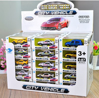 Wholesale roadsters cars - Alloy Car Model Toys, Mini Motor Racing Car, Roadsters, Various Patterns, High Simulation, Kid' Birthday' Gifts, Collecting, Home Decoration
