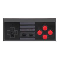 mini drahtloses gamepad großhandel-Mini Game Joystick Wireless Turbo Controller USB Plug & Play Gaming Gamepad für NES Classic Edition für Nintendo NS 60pcs / lot