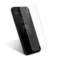 apfel iphone anzeige großhandel-Für iPhone X 8 7 6 6S gehärtetes Glas Display Schutz für iPhone 6S Plus Samsung S8 S9 Hinweis 8 Bildschirm 9H Härte