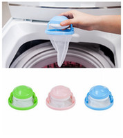 Wholesale protection filters online - Hair Ball Removal Tool Washing Machine Hair Ball Suction Hair Remover Stick Bag Cleaning Clothes Washing Ball Filter Protection DDA535