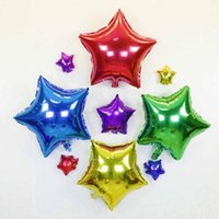 Wholesale green heart balloons resale online - Party Wedding Decoration Star Heart moon shape Foil Helium Balloons Birthday Wedding Anniversary Party Supplies