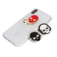 Wholesale cell phone functions for sale - Group buy Available Skull Shape Ring Holder Cell Cool Phone Car Stand Fidget Colorful Multi Function Originality Rings Bracket xj jj