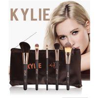 Wholesale Nylon Brush Set - 2018 Kylie Jenner Make Up Complexion Brush Set Nake Eyeshadow Palettes Foudation Makeup Brushes High Tech Cosmetics Tools