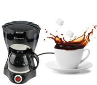 máquinas mocha venda por atacado-Household Gotejamento Automático de Café Máquina de Isolamento de Chá Portátil Mocha Cappuccino Máquina de Café Automático Estilo Americano TB