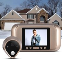 "Wholesale Wireless Door Camera Intercom - 3.2"" TFT LCD Screen Digital eye Viewer Video Camera Door Phone,doorphone monitor Speakerphone intercom Home Security Doorbell"