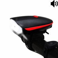 Wholesale Bright Horn - Bike Light Bicycle Horn USB Rechargeable, Super Bright Bicycle Headlight Waterproof,1200mAh Battery,3 Lighting Modes,5 Horn Sounds,120 Db