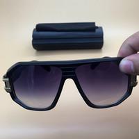 lente de plástico polarizado venda por atacado-2018 nova Marca Designer preto Quadro Óculos De Sol Óculos De Acetato Gradiente Lente óculos De Plástico Das Mulheres Dos Homens Retro óculos Polarizados 624