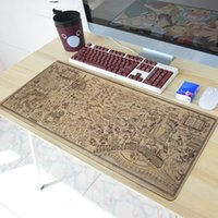 Wholesale Cartoon Rubber Mouse Pad - 700 * 300mm old map Gaming Mousepad mouse pad large Anime Cartoon Harry Potter Mouse Pad Mat Table Mat Rubber keyboard