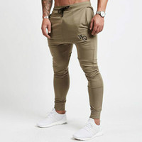 Wholesale casual winter trousers pants - New Gyms Pants Men Joggers Casual Pants Brand Trousers Autumn Winter Sporting Bodybuilding Sweatpants joggers
