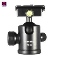 Wholesale level camera online - Manbily KF Camera Tripod Ball Head Aluminum Alloy Ballhead Panoramic Head Sliding Rail Head with Built in Spirit Levels