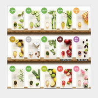 Wholesale 15 mask for sale - Group buy Korea It s Real INNISFREE Squeeze Mask Face Mask Whitening Moisturizing Anti Wrinkle Facial Mask Styles Random