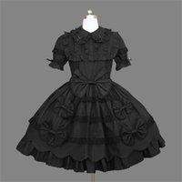 belle kostüm kadınlar toptan satış-Kadınlar için cadılar bayramı Kostümleri Southern Belle Kostüm Siyah Victorian Elbise Balo Gotik Elbise Artı Boyutu 3XL 4XL 5XL Kostüm