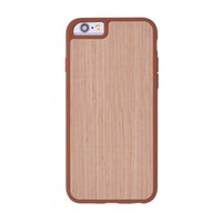 Wholesale iphone elements - Natural Bamboo Woode grain Phone Cases ultra-thin TPU Protective Back Cover Original Design Element Series for iPhone 6 6s 7 7s plus