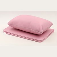 almohada cojín de la mano de manicura al por mayor-1 Unidades Nail Hand Pillow PU Leather Holder Arm Holder Rests Pink / Brown Cushion Care Salon Manicure Tool
