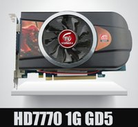 ati radeon tarjetas gráficas al por mayor-Nuevas tarjetas gráficas originales ATI Radeon Chipset HD7770 1GB 128Bit GDDR5 más resistente que GTX650 GT740