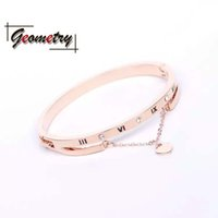 Wholesale birthday wishes samples - 2018 new arrival hot-sale product bangle fashiobable romantic friendship jewels students joker girlfriend gift creative rose gold
