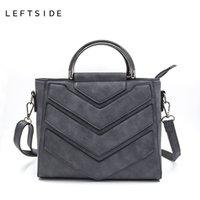 neue damen schwarze handtaschen großhandel-New Vintage Schwarz PU Frauen Leder Handtaschen Designer Frauen Messenger Bags Crossbody Umhängetasche hand Totes Für Damen
