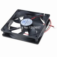 Wholesale 24v Brushless Dc Motors - 1PCS GDT DC 24V 2Pin 3000rpm 120mm 120x25mm 12025B Ball Cooler Motor Brushless Cooling Fan