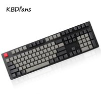 Wholesale usb mechanical keyboard - blank dolch color pbt keycaps oem cherry profile red esc 108keys for usb wried mechanical keyboard