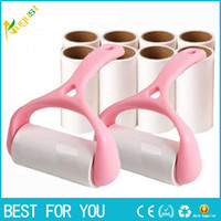 Wholesale cloth dust roller for sale - Group buy One set Sticky Hair Cloth Sticky Buddy For Wool Dust Catcher Carpet Sheets Hair Pet Hair Sucking Sticky Lint Hair s Cleaning Brush Roller