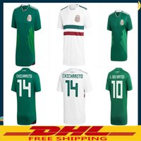 Wholesale wholesale browns jerseys - DHL Free shipping 2018 Mexico Soccer Jersey Home Away Player version fans version Size can be mixed batch
