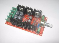 dc controlador de velocidade do motor venda por atacado-1600 W PWM DC Controlador de Velocidade Do Motor 40A Placa de Comutação de Controle de Velocidade 10 V-40 V Pulse Largura Modulação Placa de Circuito PLC Regulação de Velocidade