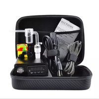 Wholesale complete tools online - Quartz E Dab Nail Box Kit Electic MM Female Male Quartz Nail Electric Dab Nail Complete Kit Temperature Controller w Dabber Tools
