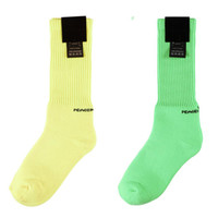 bayraklar çorap toptan satış-17AW Jakarlı Bayrak Sportif Peaceminusone PMO GD Çorap PACCBET Vetements Çorap Güneş Erkekler Yeni Moda Gosha Rubchinskiy Çorap
