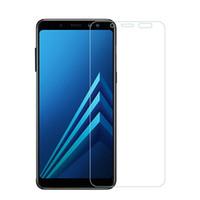 vaso a8 al por mayor-Cristal protector para Samsung Galaxy J3 J4 J5 J6 J7 A8 A6 2018 Protector de pantalla de cristal templado para Samsung A6 A8 Plus 2018