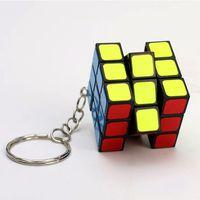Wholesale key cube for sale - Group buy Puzzle cube key ring cm Mini Magic Rubik Cube Game Rubik Learning Educational Game Rubik Cube Good Gift Toy Decompression toys B